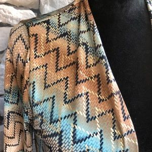 Travelers Collection by Chico's 1 kimono/cardigan